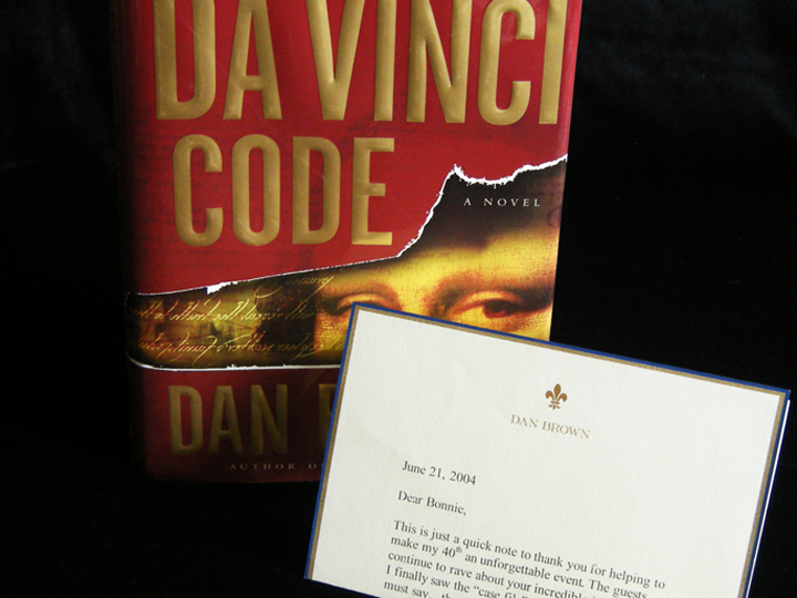 Dan Brown 40th Birthday